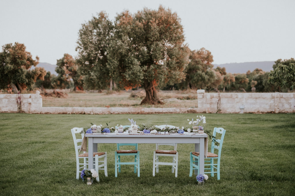 Colours for a mediterranean wedding style