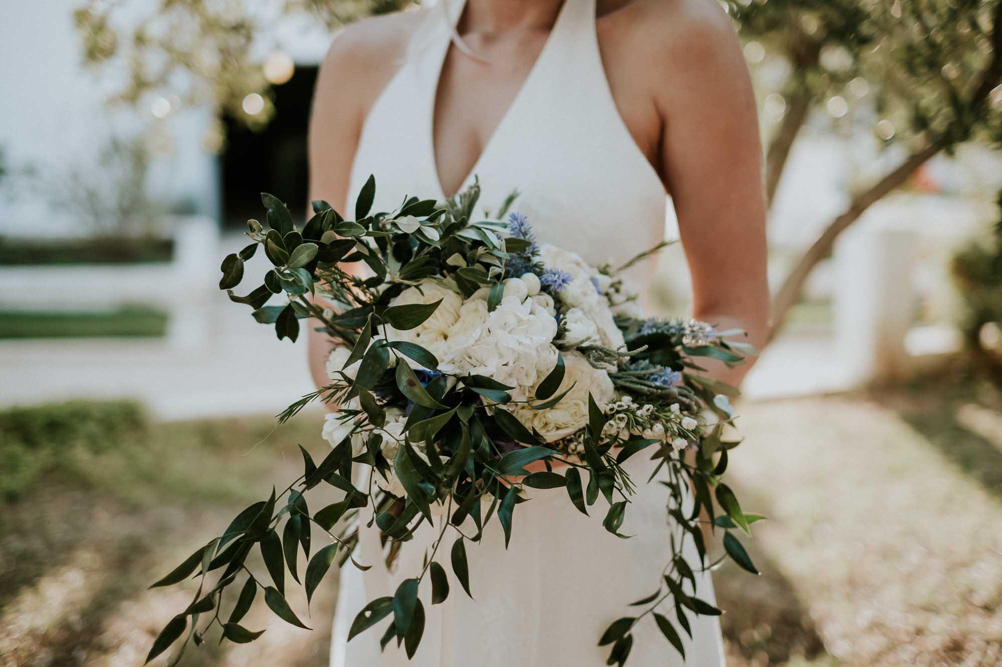 boho style bouquet