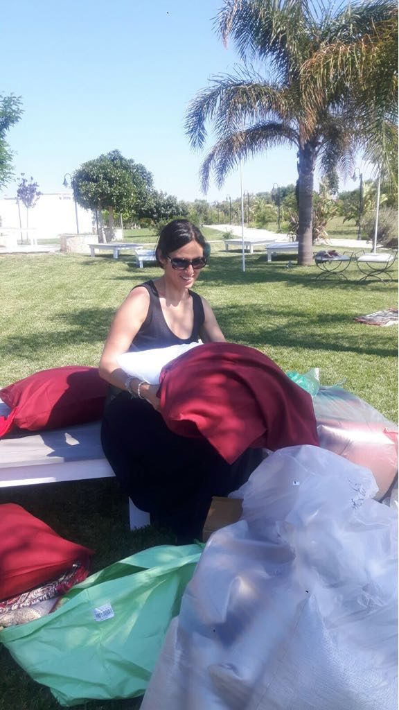 local wedding planner Marina Indraccolo